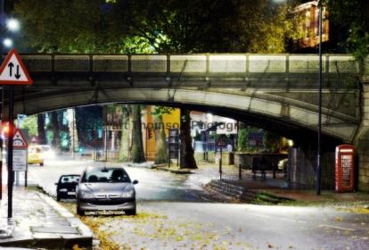 Friar Gate Bridge At 2am