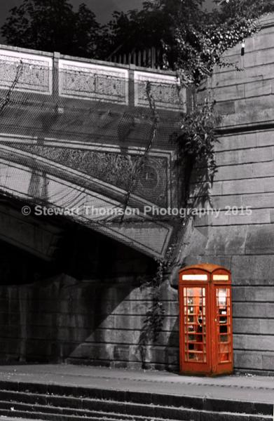 Friar Gate Bridge Phone Box