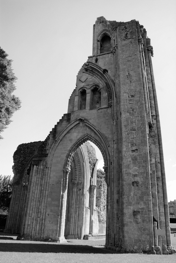 Glastonbury Abbey Ruin
