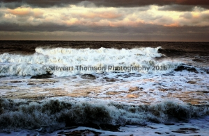 Stormy Staithes
