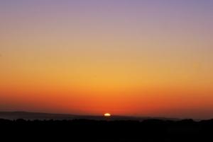 Sunrise At Arbor Low Stone
