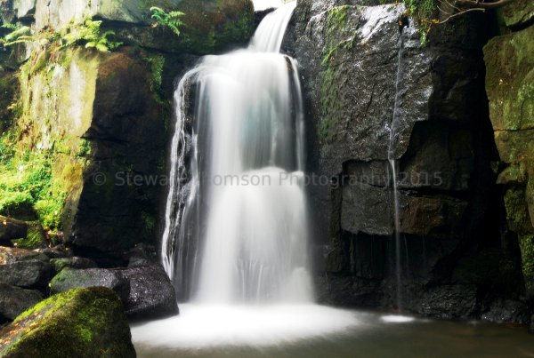Lumsdale Valley Waterfall